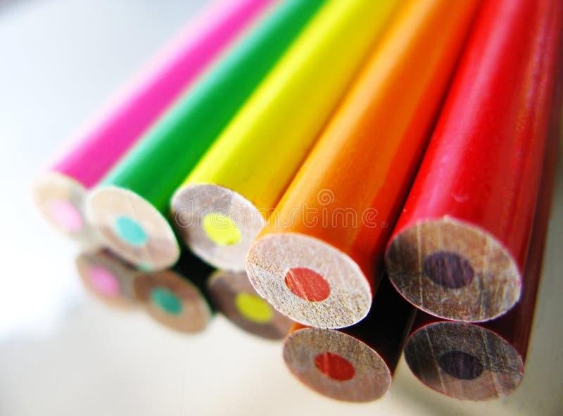färgspegel arkivfoton