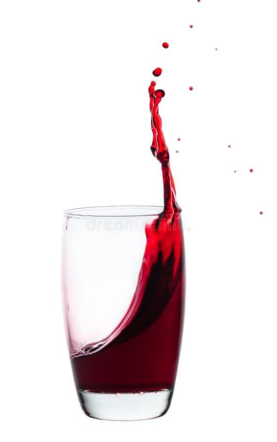 Färgstänk av drinken royaltyfria foton