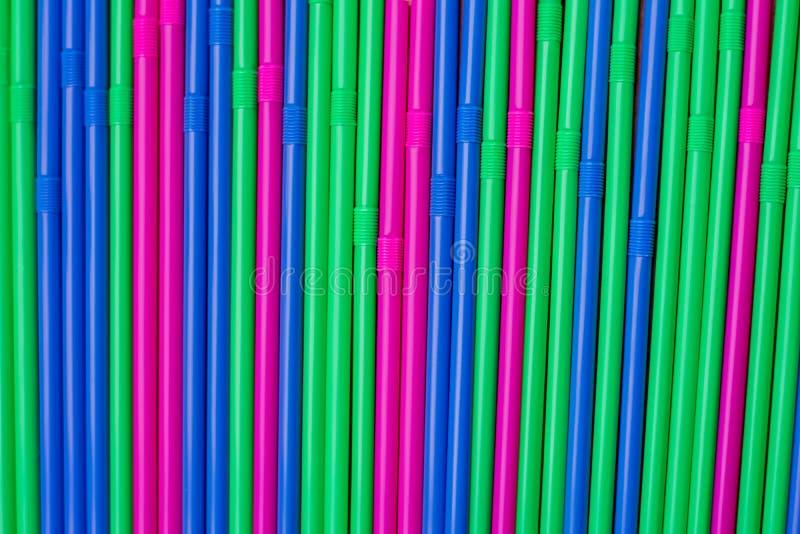 Färgsugrör arkivfoton