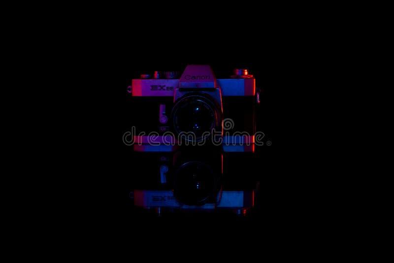 Färgtappningkamera arkivfoto