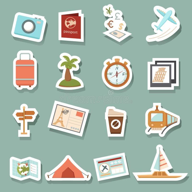 fästande ihop den digitala bland annat banor för symboler illustrationen skrapar lopp stock illustrationer