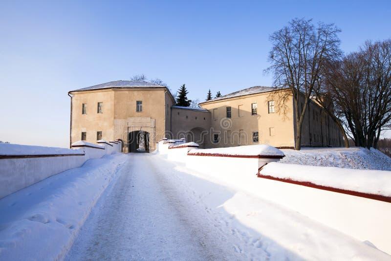 Fästning av Grodno royaltyfria foton