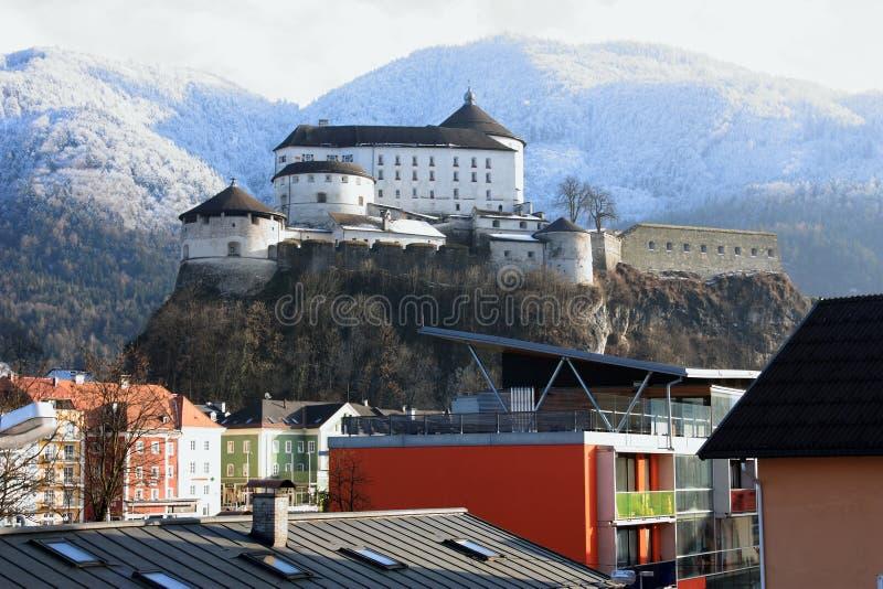 Fästning av Kufstein arkivfoto