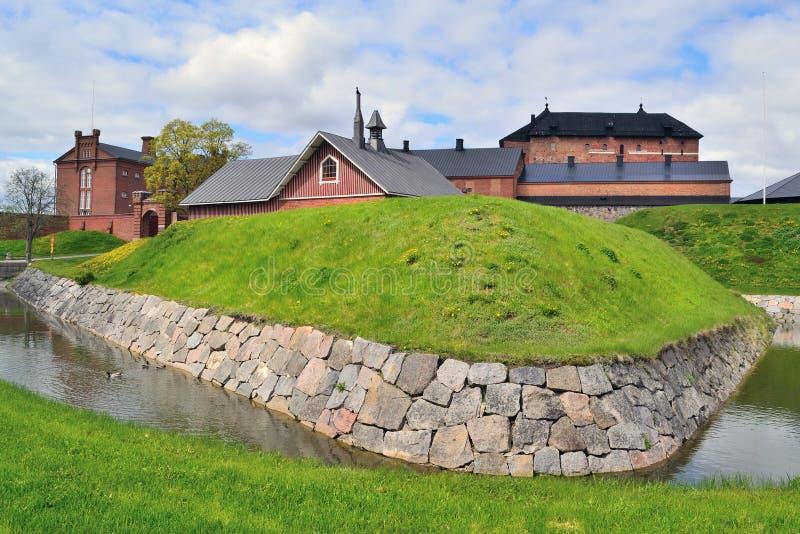 Fästning Hameenlinna, Finland royaltyfria foton