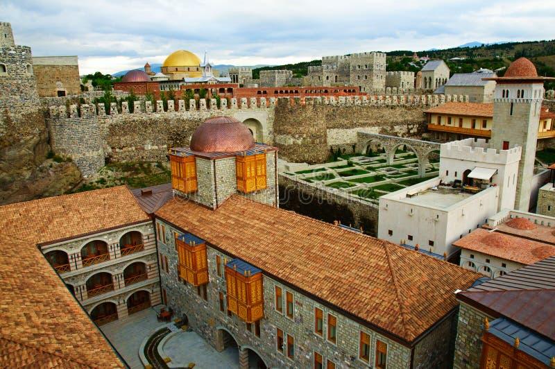 Fästning Rabat i Akhaltsikhe arkivbilder