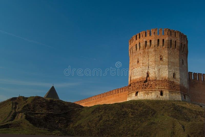 fästning smolensk royaltyfria foton