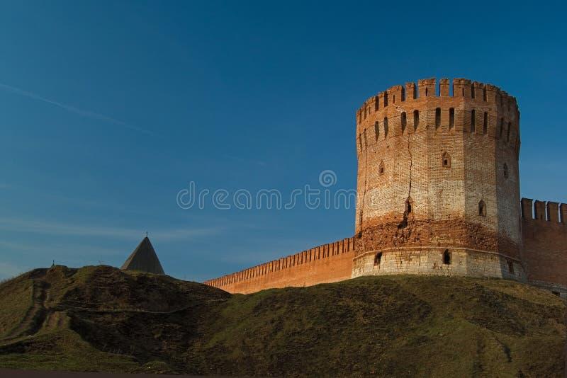 fästning smolensk arkivbild