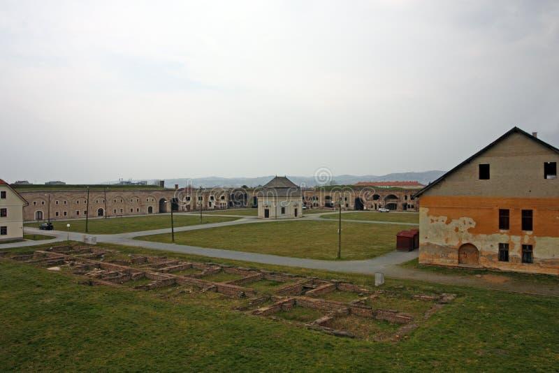 Fästningen av Brod, Slavonski Brod arkivfoto