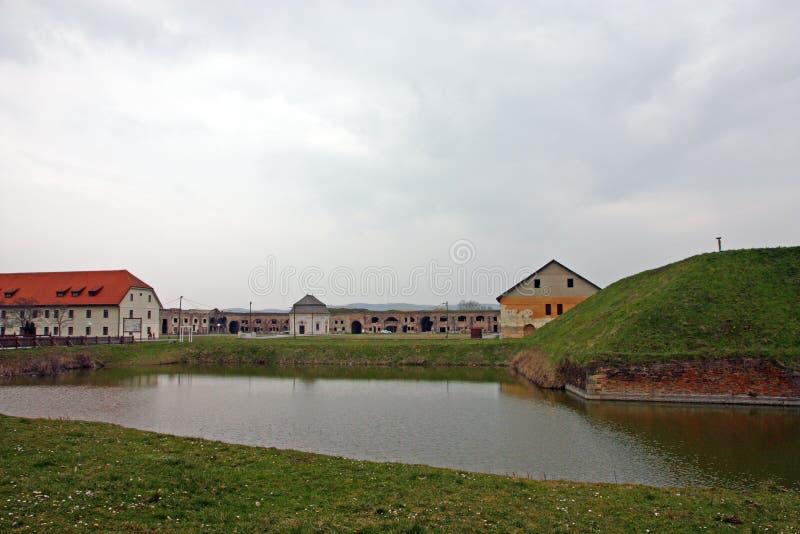 Fästningen av Brod, Slavonski Brod royaltyfri bild