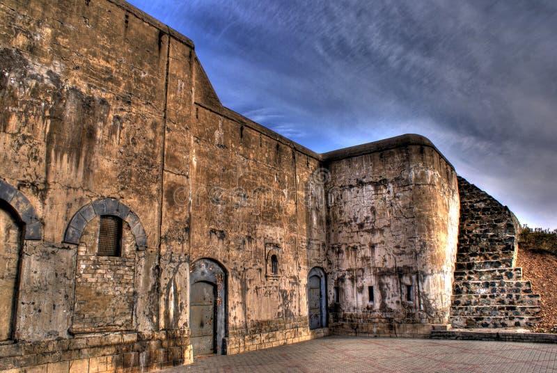 fästningforts vladivostok royaltyfria bilder
