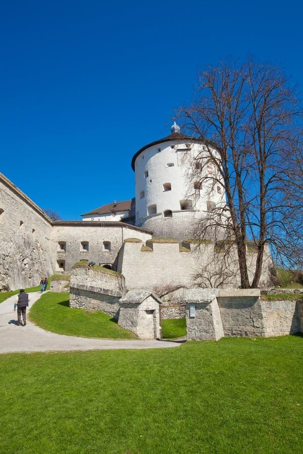 fästningkufstein fotografering för bildbyråer
