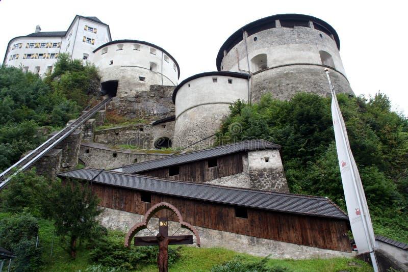 fästningkufstein arkivfoto