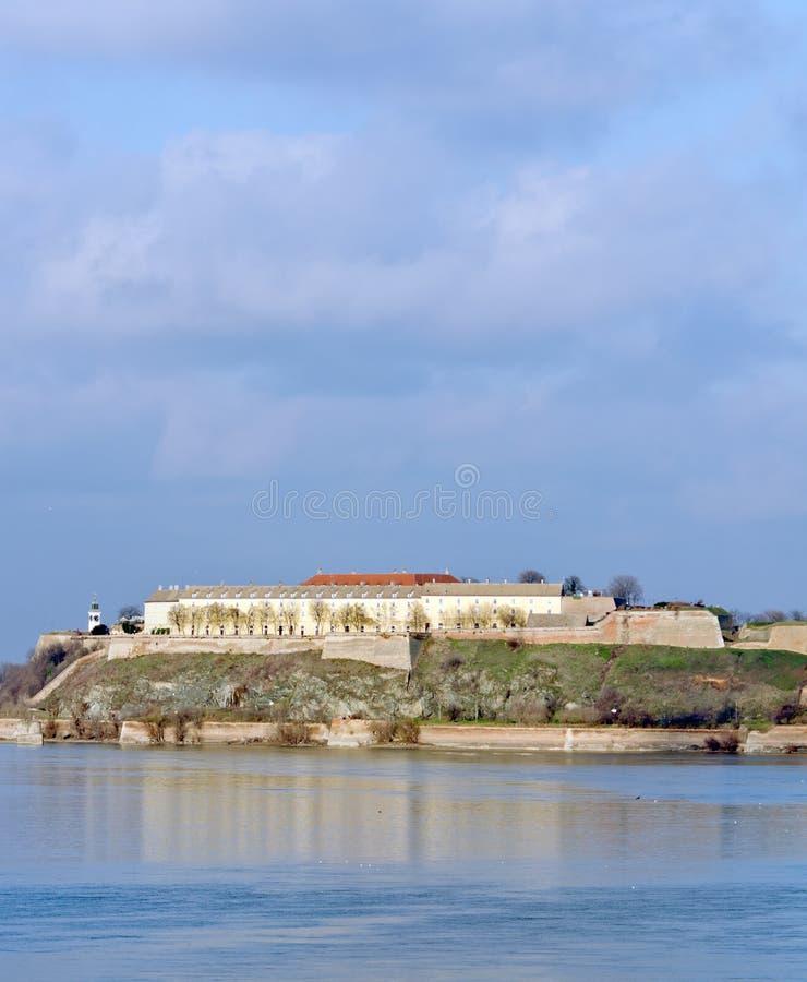 fästningpetrovaradin royaltyfria bilder