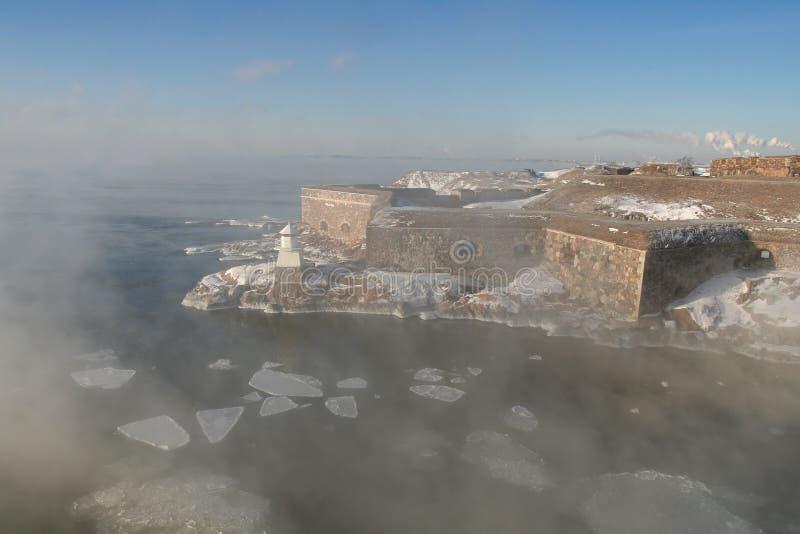 fästningsuomenlinna royaltyfri bild