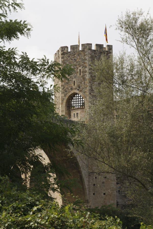 Fästningtorn arkivfoton