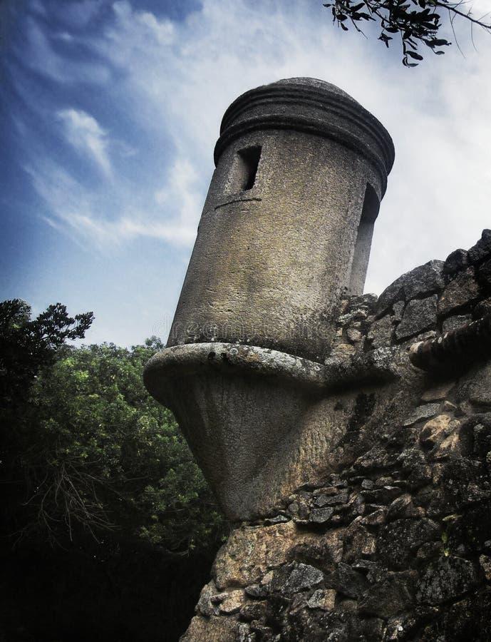fästningtorn arkivfoto