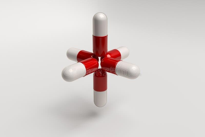 Få att sväva Pills arkivfoton