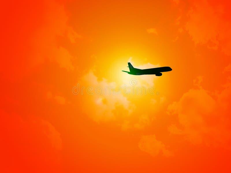 Download Få bort fotografering för bildbyråer. Bild av flyg, stråle - 29995