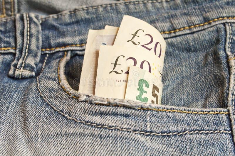Download Få brittiska pund fotografering för bildbyråer. Bild av framdel - 27284069