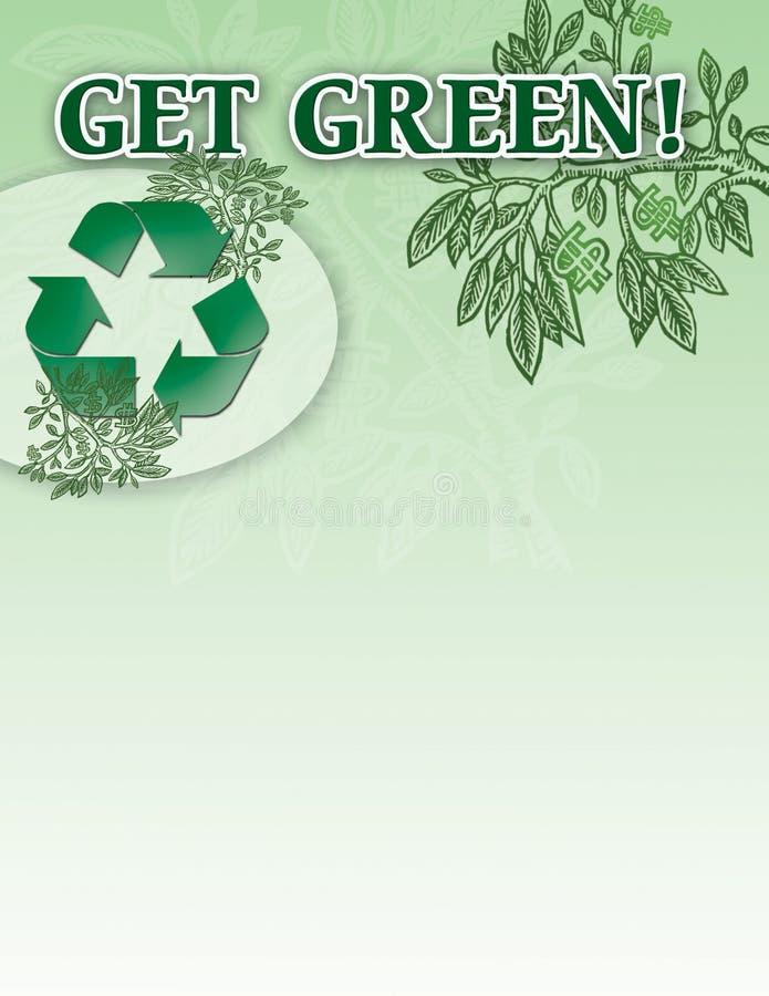 få grön royaltyfri illustrationer