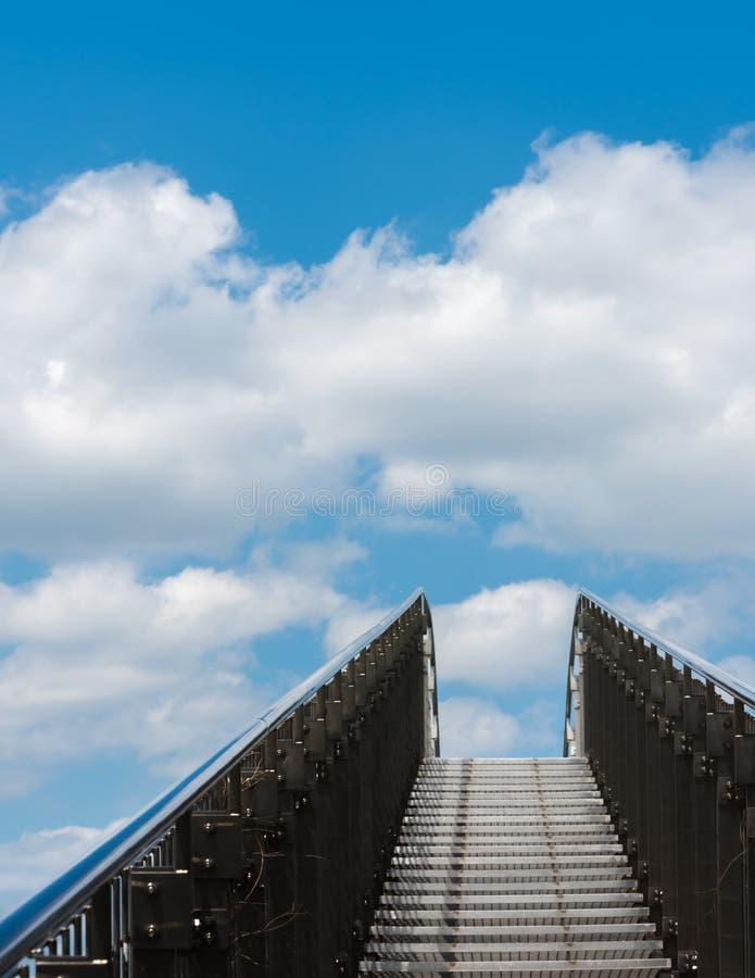 Få moment till himmel arkivfoto