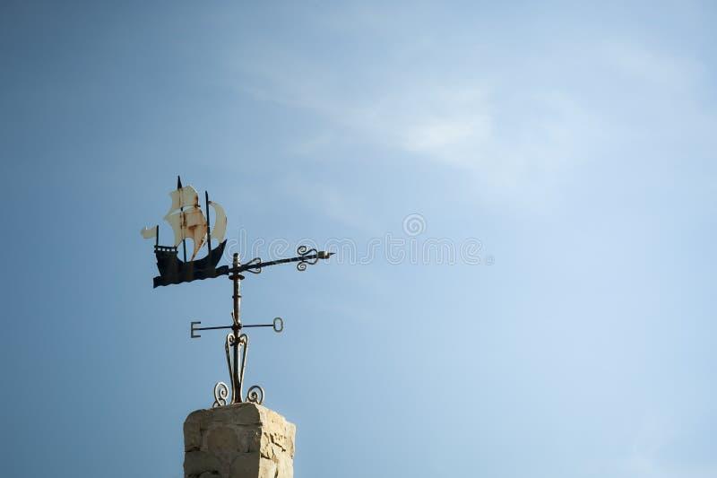 Fåfängt av ett antikt skepp arkivfoton