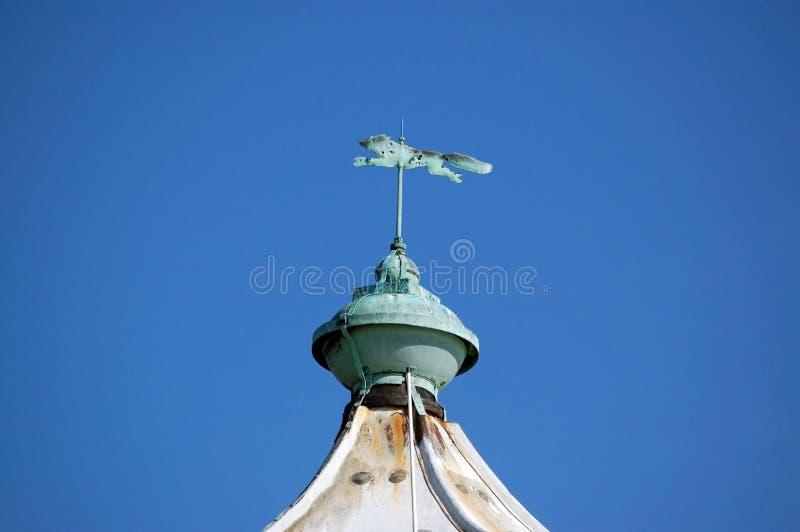 fåfängt väder för rävportsmouth southsea royaltyfria bilder