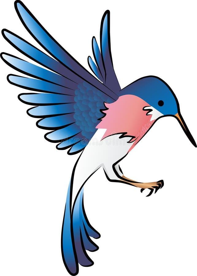 Fågel vektor illustrationer
