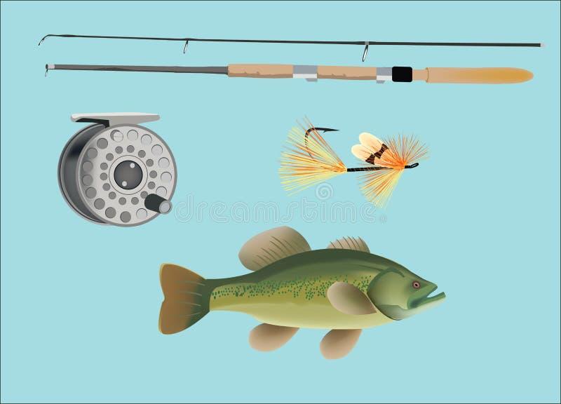 Fångstredskap vektor illustrationer