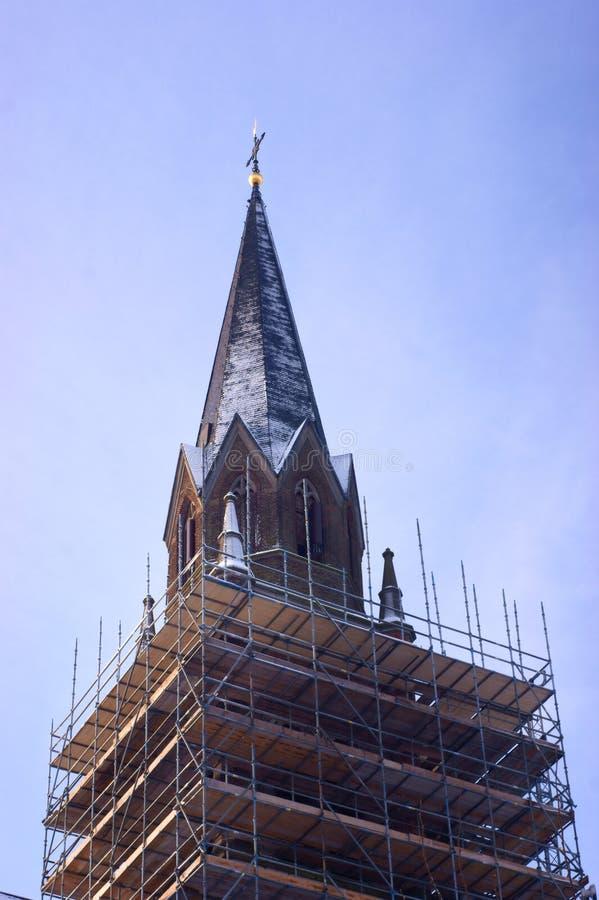 Download Fé do edifício foto de stock. Imagem de catholic, babel - 12809548