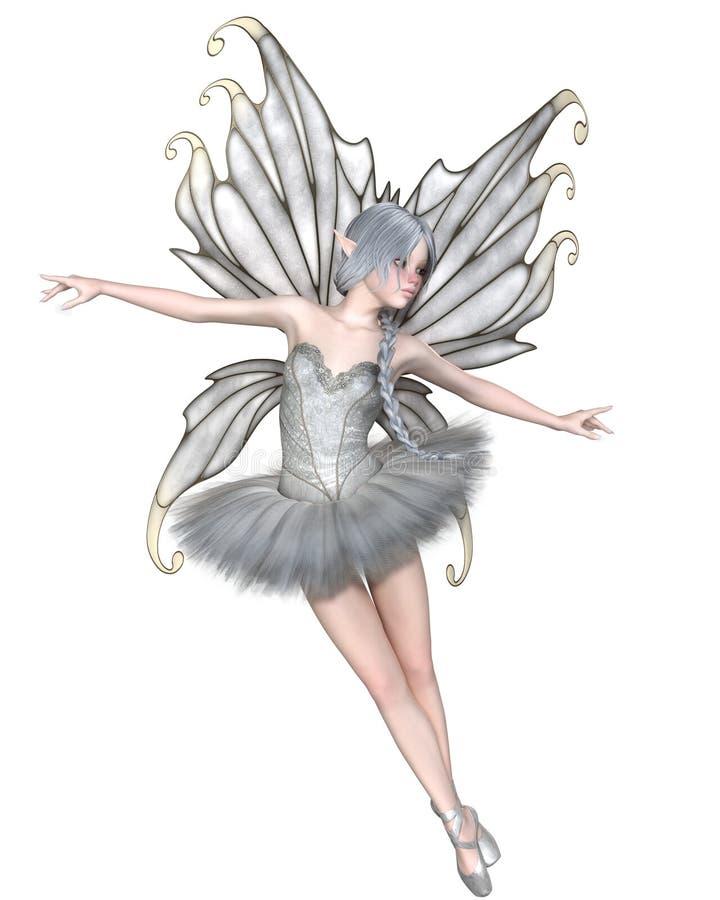 Fée d'hiver de ballerine - 2 illustration libre de droits