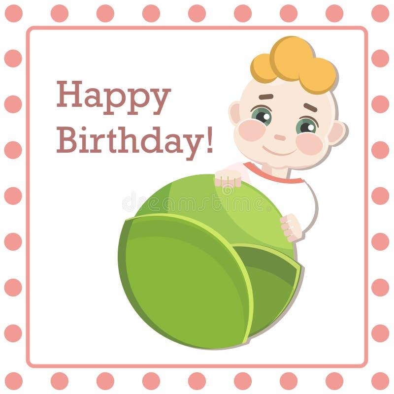 Félicitations sur la naissance de votre bébé illustration libre de droits