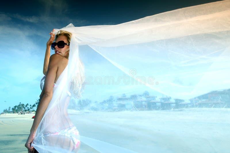 Férias da noiva imagens de stock royalty free