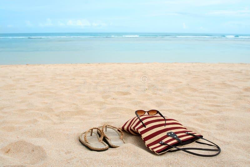 Férias da praia foto de stock