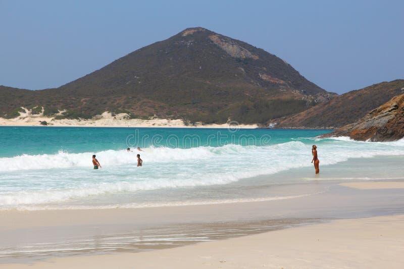 Férias da praia de Brasil imagem de stock royalty free