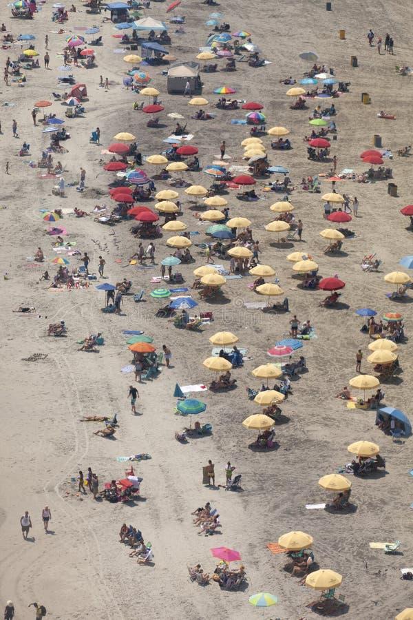 Férias da praia do verão - Atlantic City, New-jersey imagem de stock royalty free