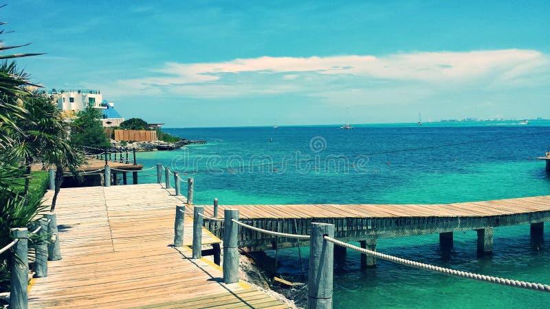 Férias de Cancun México fotos de stock