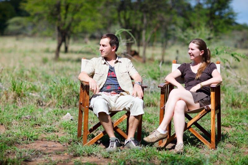 Férias do safari imagem de stock royalty free