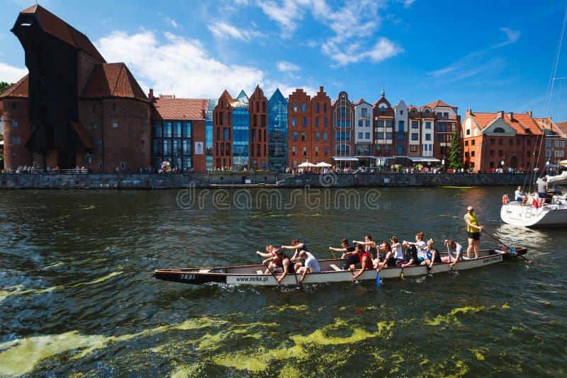 Férias em Gdansk imagem de stock royalty free