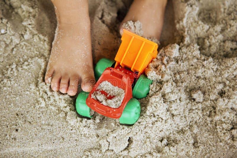 Férias na praia fotos de stock