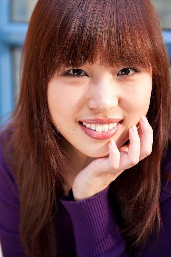 Fêmea asiática imagens de stock royalty free