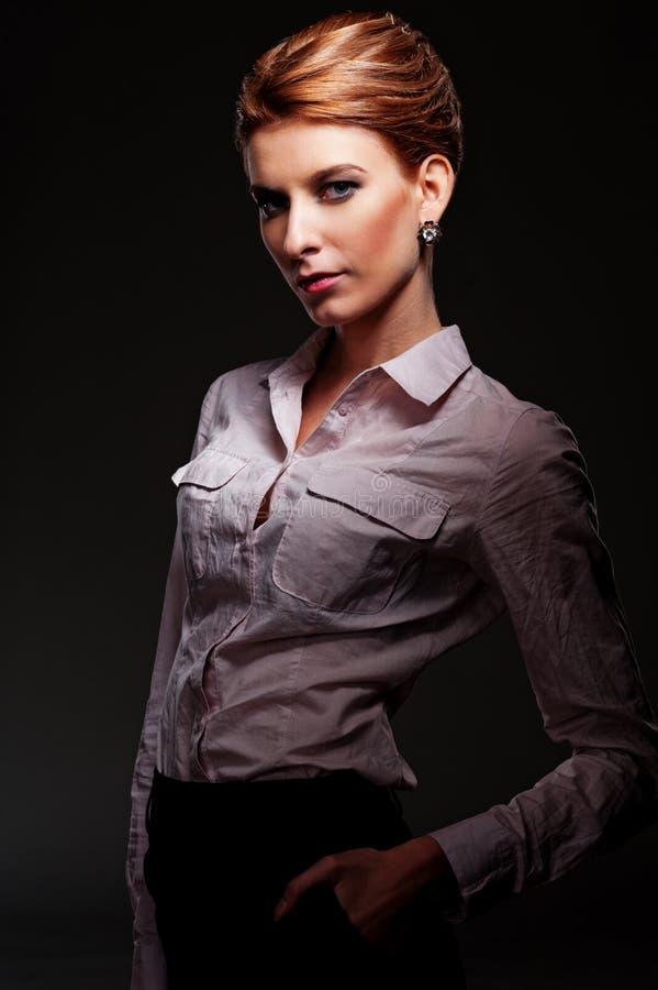 Fêmea caucasiano atrativa fotografia de stock royalty free