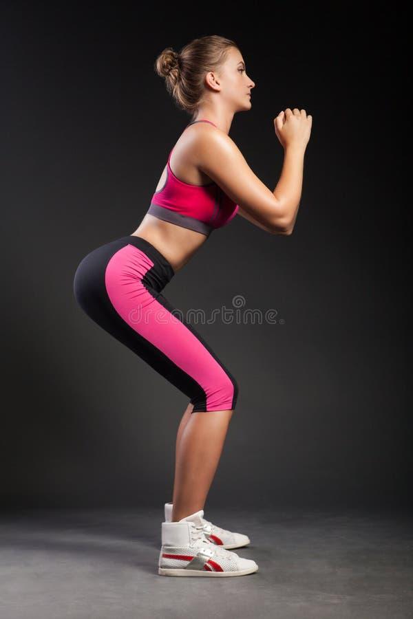 Fêmea desportivo nova foto de stock