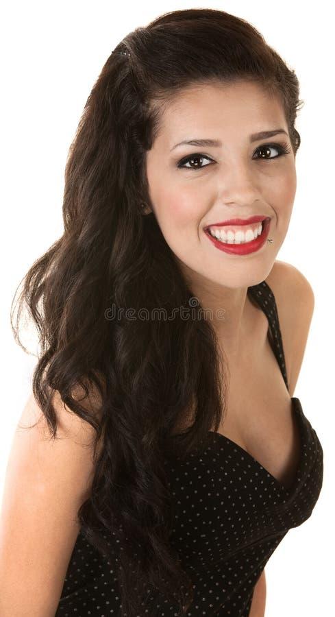 Fêmea mexicana alegre foto de stock royalty free