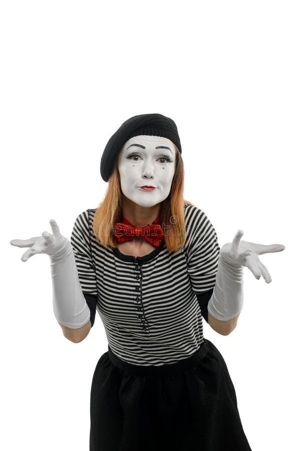 A fêmea mimica é confusa fotos de stock