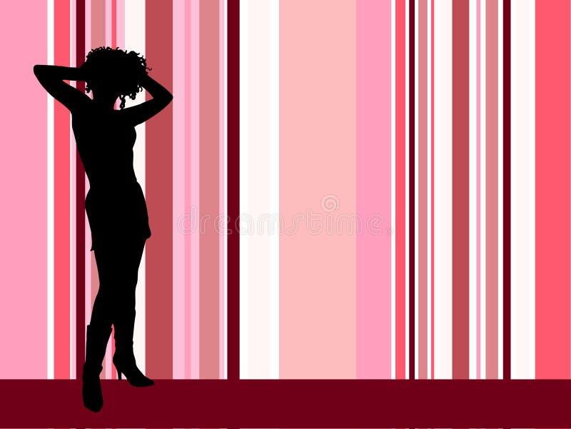 Fêmea 'sexy' ilustração stock