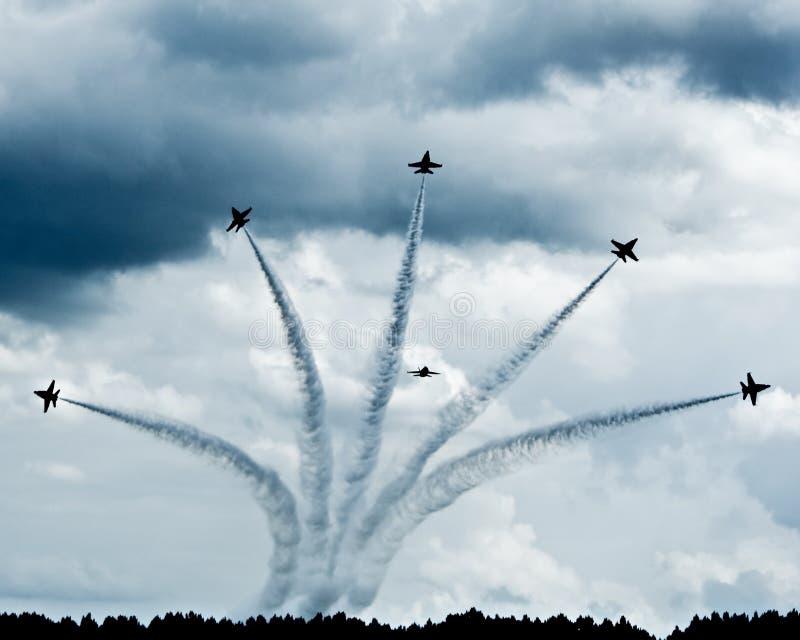 Fête aérienne   images libres de droits