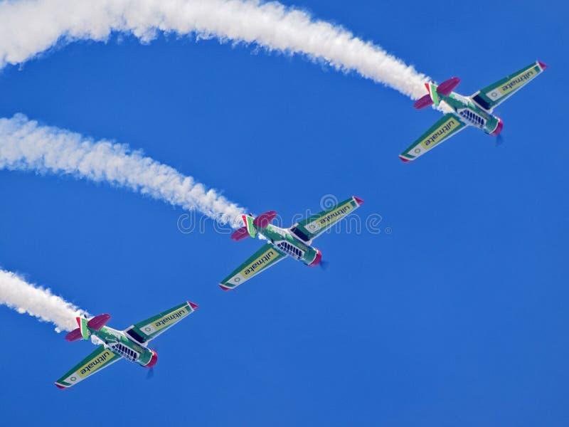 Fête aérienne de la Virginie Durban, SA photographie stock