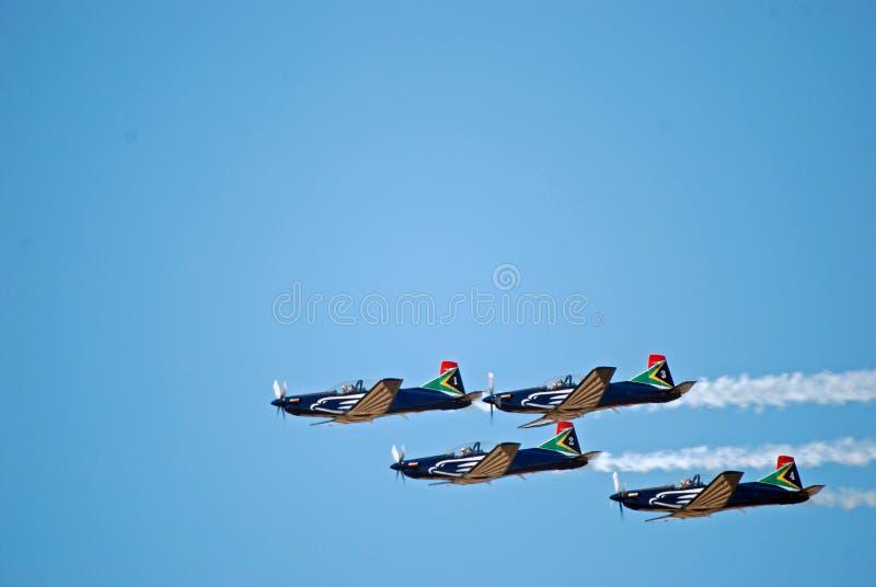 Fête aérienne de Pilatus PC-7 Mk II Astra images libres de droits