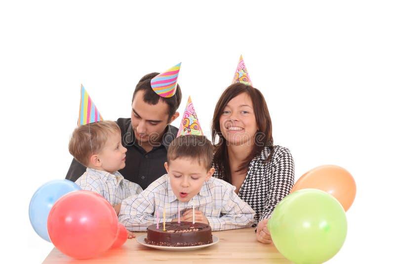 Fête d'anniversaire photos libres de droits